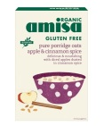 amisa Pure Porridge Oats Apple & Cinnamon Spice 300 Gram