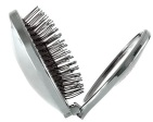 Wet Brush Haarborstel Anti-Klit Mini Pop Fold Silver 1 Stuks