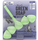 green soap Wc blok lavendel 1 stuk