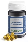 Bonusan Vitamine D3 75 mcg / 3000 IE 60 softgel capsules