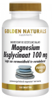 Golden Naturals Magnesium Bisglycinaat 100mg 180 tabletten