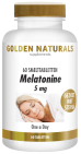 Golden Naturals Melatonine 5mg 60 smelttabletten