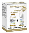 Golden Naturals Duoset scutellaria 60 capsules en 20ml neusspray 1 set