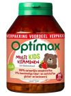 Optimax Kinder Multivitamines Aardbei 180 kauwtabletten