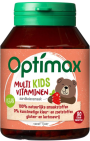 Optimax Kinder Multivitamines Aardbei 90 kauwtabletten