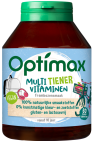 Optimax Tiener Multivitaminen 60 kauwtabletten