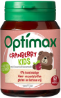 Optimax Kinder Cranberry 60 kauwtabletten