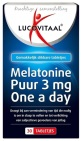 Lucovitaal Melatonine Puur 3 mg One a Day 30 tabletten