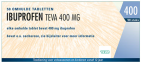 Teva Ibuprofen 400mg 20 tabletten