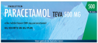 Teva Paracetamol 500 mg 50 tabletten