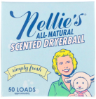 nellie's Scented Dryerball Simply Fresh 1 stuk