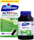 Davitamon Actifit 50 Plus Omega-3 Visolie 150 capsules