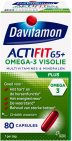 Davitamon Actifit 65 Plus Omega-3 Visolie 80 capsules