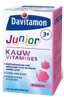 Davitamon Junior 3+ Framboos 120 tabletten