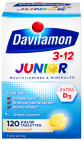 Davitamon Junior 3-12 Kauwtabletten Banaan 120 tabletten