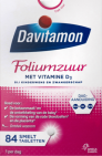 Davitamon Foliumzuur Vitamine D3 84 tabletten