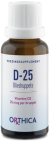 Orthica D-25 Oliedruppels 15ml