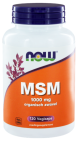 Now MSM 1000mg 120 capsules
