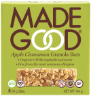made good Appel Cinnamon Granola Bars 144 gram