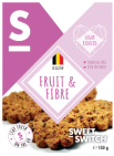 Sweet-Switch Cookie Fruit & Fibre 150 gram