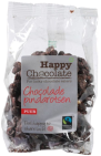 happy chocolate Chocolade Pindarotsen Puur 150 gram