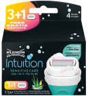 Wilkinson Scheermesjes Intuition Sensitive Care 4 stuks