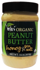 Oskri Organic Peanut Butter Honey Sea Salt 220 gram
