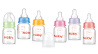 Nuby Fles Glas 60ml Slow Flow 1 stuk