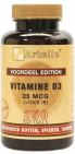 Artelle Vitamine D3 25 mcg 250 softgels