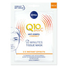 Nivea Q10 Plus C Anti-Rimpel + Energy Tissue Masker 1st