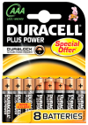 Duracell Plus power aaa 8 stuks