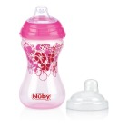 Nuby Beker Click-It-Easy Roze 300ml
