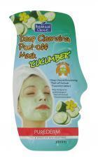 Purederm Gezichtsmasker Deep Cleansing Peel-Off Cucumber 10ml