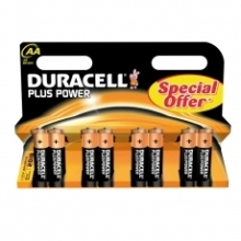 Duracell Batterijen Plus Power AA 8 stuks