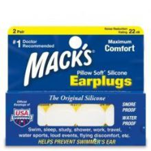 Macks Earplugs 4st