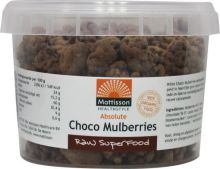 Mattisson Absolute raw choco mulberries 150g