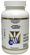 Vital Cell Life Vitamine c multi element gebufferd 100cap