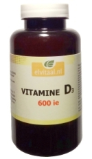 Elvitaal Vitamine d 600ie 100st