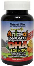 Natures Plus Animal parade omega 3 visolie 90st