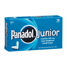 Panadol Junior zetpil 500mg 10zp