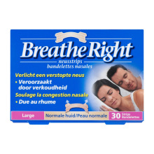 Breathe Right Neusstrips tanned large 30st