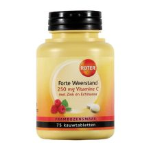 Roter Vitamine C Weerstand Forte 250mg 75tb