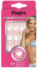 Fing'rs French Manicure California Girl Kunstnagels 24 stuks