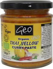 Geo Organics Curry paste thai yellow 180g
