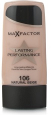 Max Factor Foundation Lasting Performance Natural Beige 106 1 stuk