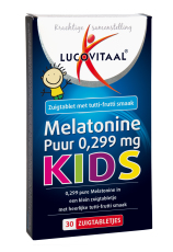 Lucovitaal Melatonine Kids Puur 0,299mg 30 tabletten