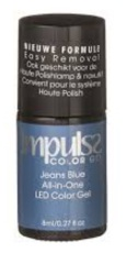 Impulss Color Gel Jeans Blue 8 Ml 8ml