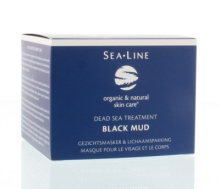 Sea Line Gezichtsmasker Black Mud Treatment 225ml