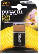 Duracell Alkaline plus power 9V 1 stuk