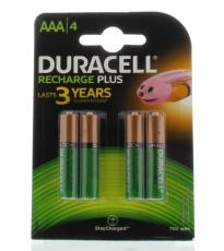 Duracell Rechargeable AAA 750 mAh 4st